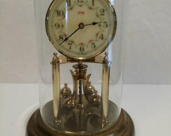 Kundo Germany glass dome clock