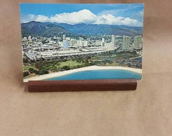 Post Card Al Moana Beach Hawaii