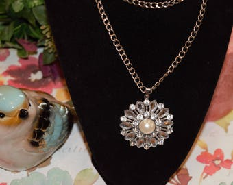 Fancy Flower necklace