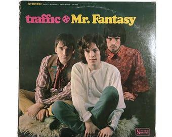 "Traffic, ""Mr. Fantasy"", vinyl record album, classic rock LP, 1960s, psych, Steve Winwood, Heaven is in Your Mind, Dear Mr Fantasy"