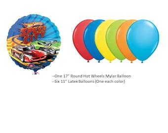 Hot Wheels Balloon Set
