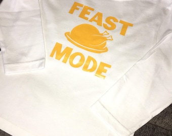 Feast Mode Toddler Long Sleeve Shirt