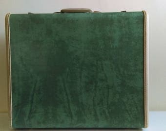 Vintage Green Samsonite Suitcase.