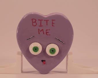 Conversation Hearts - Purple