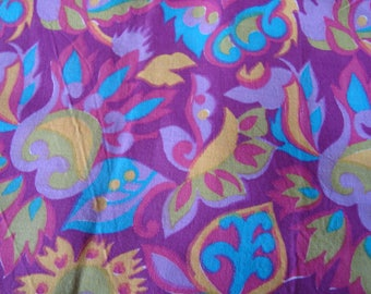 vintage fabric cotton, polyester hot Fuchsia background