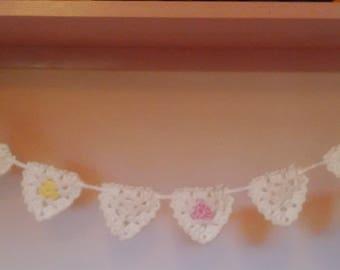 Handmade Crochet Baby bunting