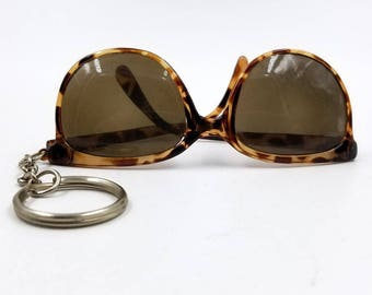 Miniature Sunglasses Key Chain Novelty