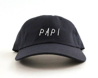 Papi Hat Champagne unstructured