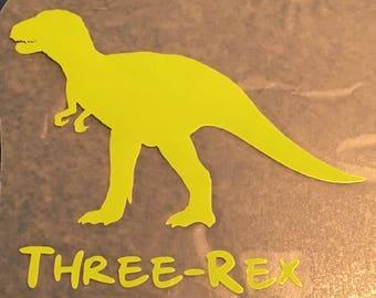 Iron On Dinosaur / Dinosaurs decal / dinosaur birthday iron on / dinosaur iron on decal / dinosaur