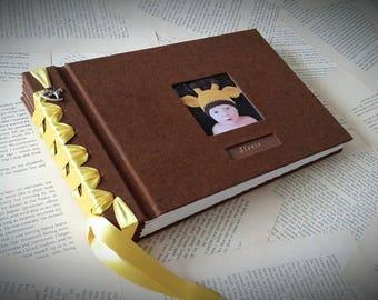 Handmade photo album.
