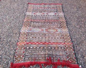 kilim nmoroccan rug berber morrocan morocco area rug  3x6