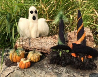 Class Friday 10/06/17 - 5:30 pm - Needle Felted Gnome or Ghost
