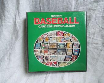 SALE 80s Baseball Cards Collectors Binder