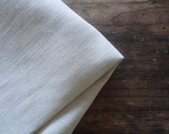 HEMP hand or bath towel, handmade from three different sorts of hemp fabric _ light, soft and heavy / rough