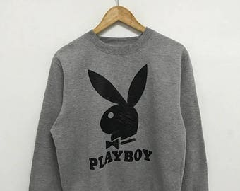 20% OFF Vintage Playboy Big Logo Sweatshirt,Playboy Sweater,Playboy Jumper
