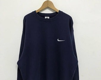 20% OFF Vintage Nike Embroidery Logo Sweatshirt/Nike Sweater/Nike Air Jordan/Nike Sportwear/Nike Oregon