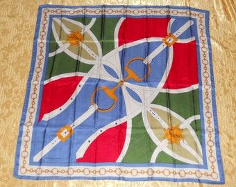 Genuine vintage Roberta di Camerino scarf- silk