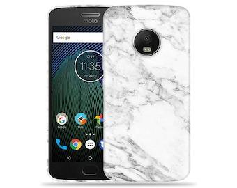 Motorola Moto G6 Plus Case - Motorola G6 Plus Case #Marble Up Cool Design Hard Phone Cover
