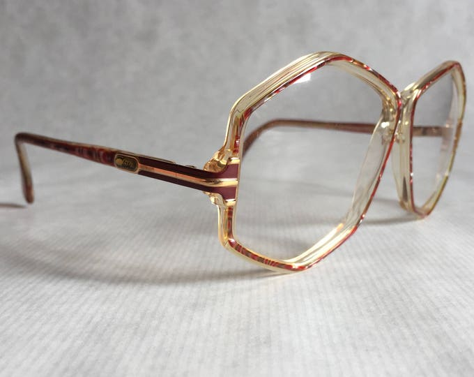 Cazal 165 Col 201 Vintage Glasses Made in West Germany New Old Stock