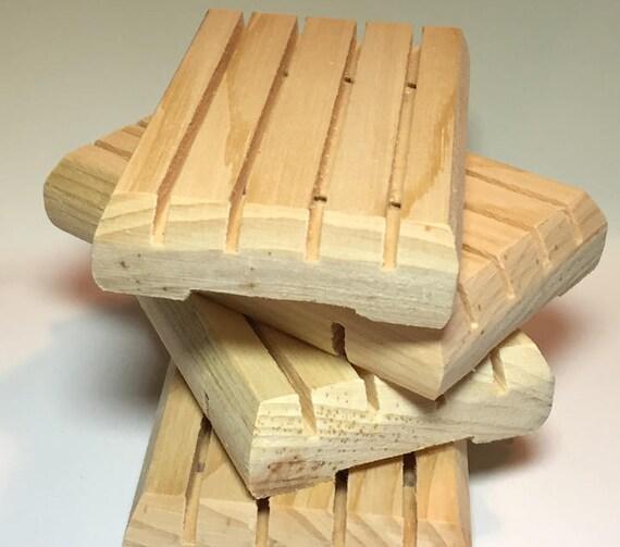 Cedar Pine Soap Deck - Pine Soap Dish