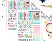 Mermaid Vibes Collection Sampler Planner Stickers! Choose your Skin Tone! HS259, HS260