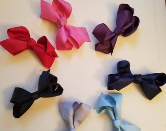 2 inch Small Shimmer Bow
