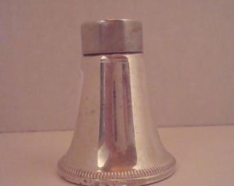 Vintage sterling silver salt shaker