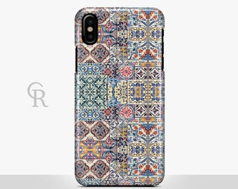 Mosaic iPhone 7 Case For iPhone 8 iPhone 8 Plus - iPhone X - iPhone 7 Plus - iPhone 6 - iPhone 6S - iPhone SE - Samsung S8 - iPhone 5