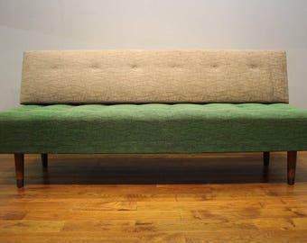 Vintage Danish Day Bed / Sofa Bed