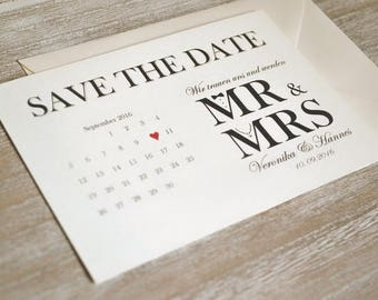 Save the date tickets-Mr. & Mrs.-Vintage-to the wedding