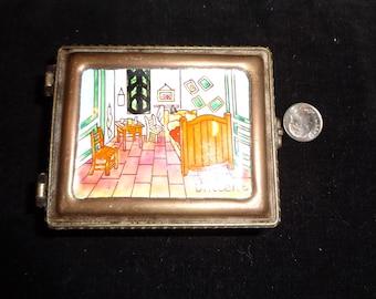 Kelvin Chen # 119 year 2000  enamel box after artist of Vincent Van Gogh