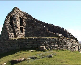 Poster, Many Sizes Available; Dun Carloway Broch, Lewis, Scotland