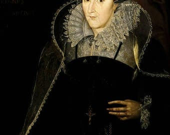 40% OFF SALE Poster, Many Sizes Available; Mary, Queen Of Scots Tudor Tudors