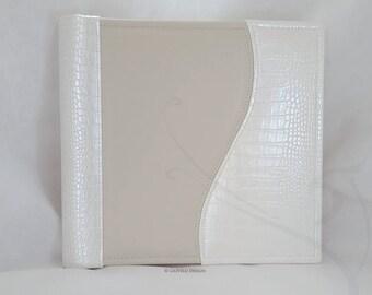Wedding Photo album / Classic Album / Faux Leather / Travel photo album / Anniversary / Photography / Scrapbooking / Baby / Family album