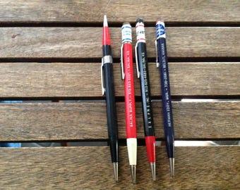 Lot of four (4) vintage pencils - 4b