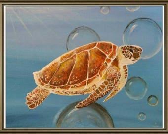 Custom Oil or Acrylic Painting Animal Art 8x10