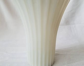 Vintage Milk Glass Vase