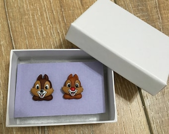 Chip and Dale stud earrings!