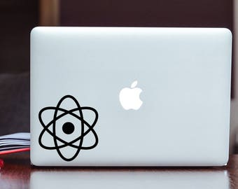 Atomic Vinyl Decal/Sticker Choose Your Size and Color