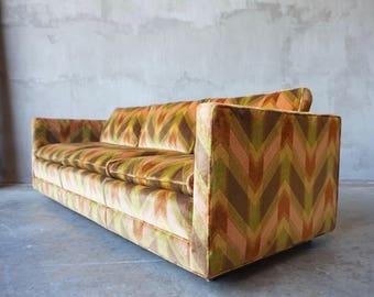 Vintage Tuxedo Sofa.