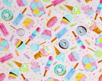 Sweet Treats / custom fabric
