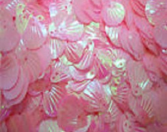 Set of 60 20X19mm shell SEQUINS