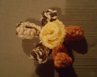Crochet Yellow Star