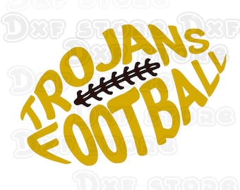 Trojans ,usc ,football,college team SVG,DXF,PNG for use with Silhouette Studio and Cricut Design Space