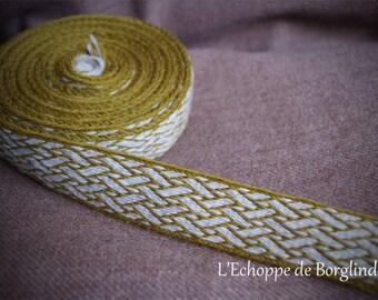 Tablet weaving trim - Viking - Birka (9-10 centuries) - viking reenactment