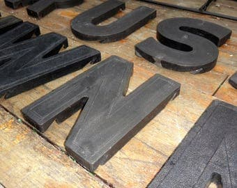 Man Cave, Best Seller, Wall Letter, Marquee Letter, Letter N, Initial, Billboard Letter, Alphabet, Black Letter, Maxs Uniquities, Dude Finds