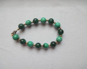AVENTURINE & MALACHITE Bracelet