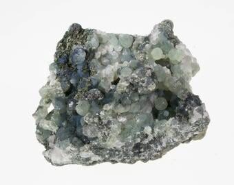 Gorgeous Prehnite geode crystal Botryoidal E171018
