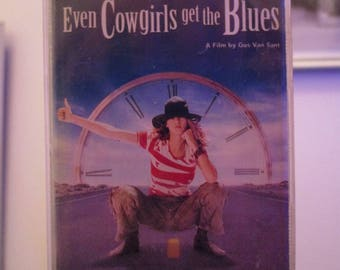 Even Cowgirls Get the Blues Movie Soundtrack Cassette Tape Featuring the Musical Artist K.D. Lange