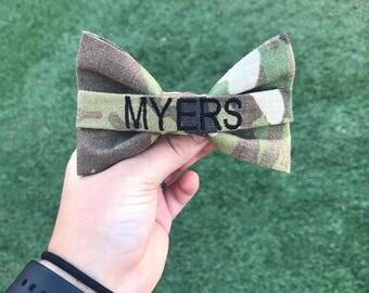 Military Army OCP Nametape Bow